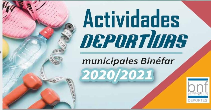 Amplia oferta deportiva para la temporada 2020-2021