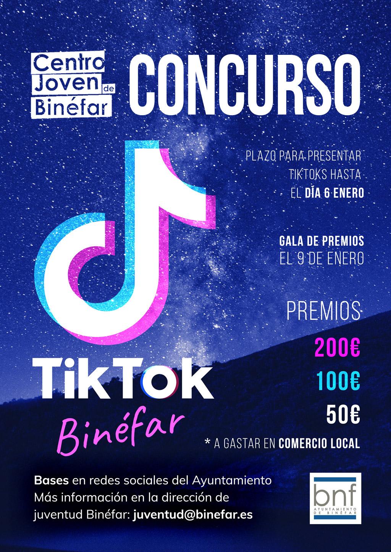 CONCURSO JOVEN DE TIKTOK