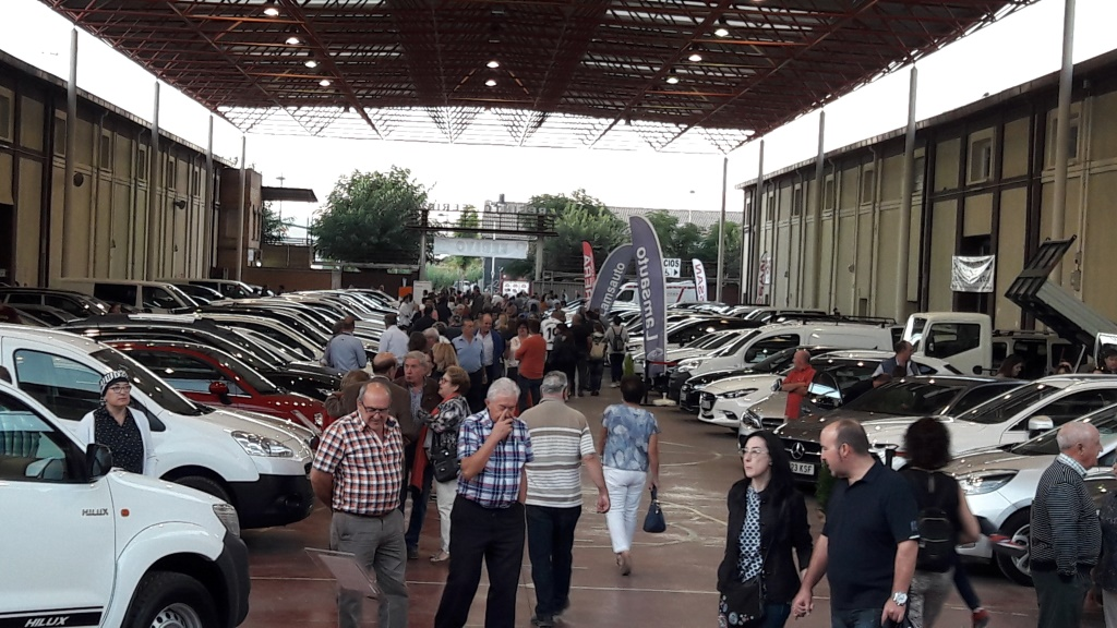 Febivo 2019 confirma el certamen de Binéfar como un sólido mercado del vehículo de ocasión en Aragón