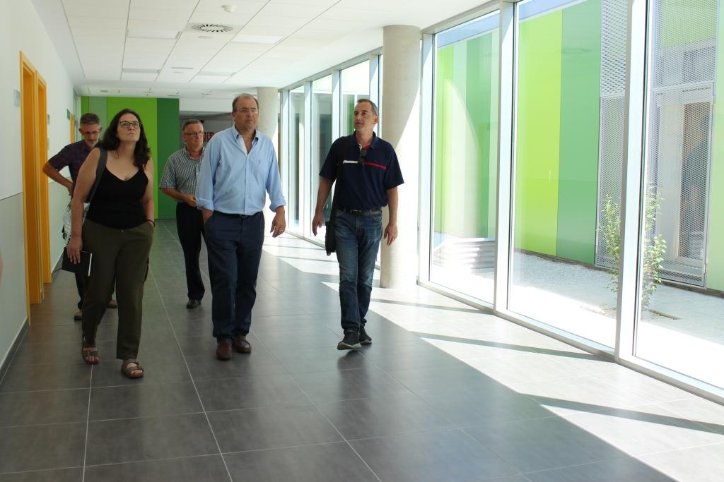 """Alfonso Adán califica de """"magnífico"""" el nuevo Centro de Salud, que se prevé esté operativo a fin de año"""