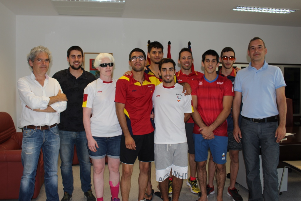 La selección paralímpica de yudo prepara el Campeonato de Europa en Binéfar