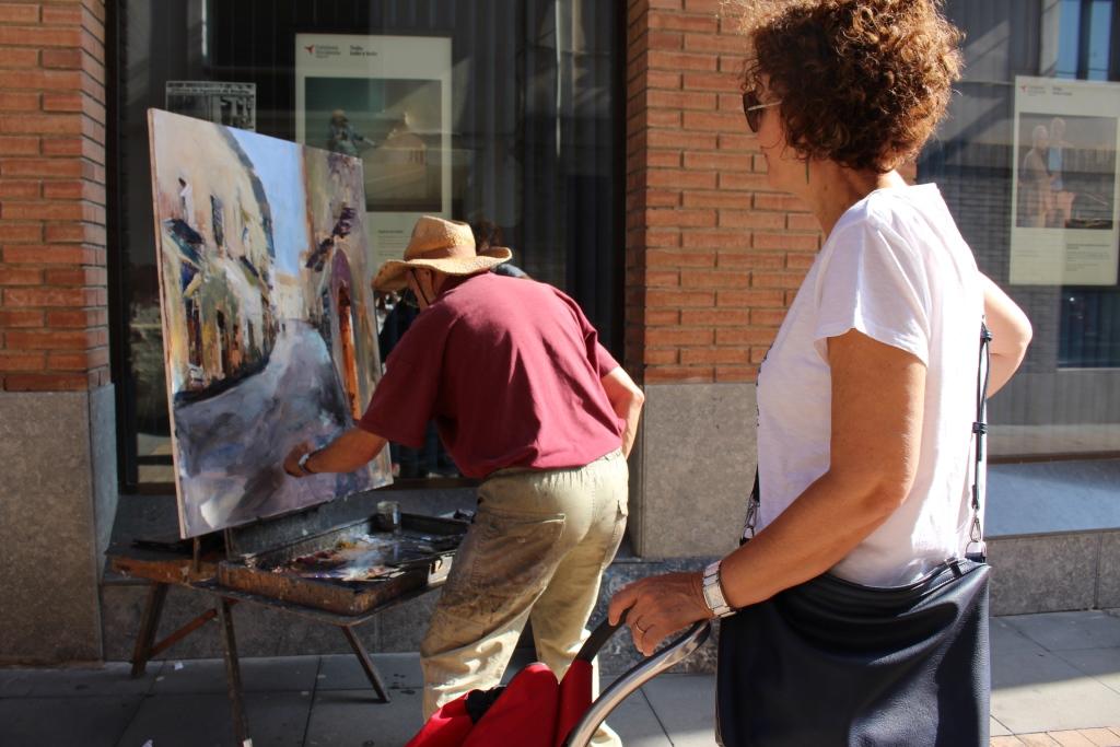El Concurso de Pintura Rápida de Binéfar busca patrocinadores