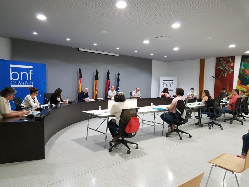El pleno municipal aprueba las bases y la dotación presupuestaria para el Plan de Dinamización Económica