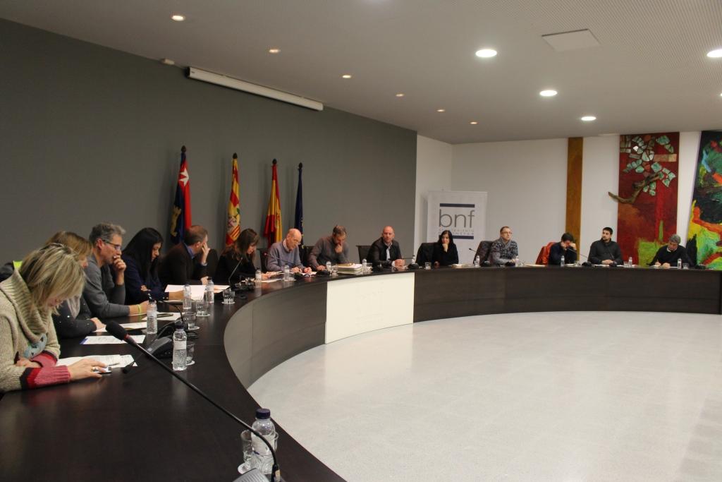 El Ayuntamiento de Binéfar aprueba un presupuesto ajustado e inversor para 2018