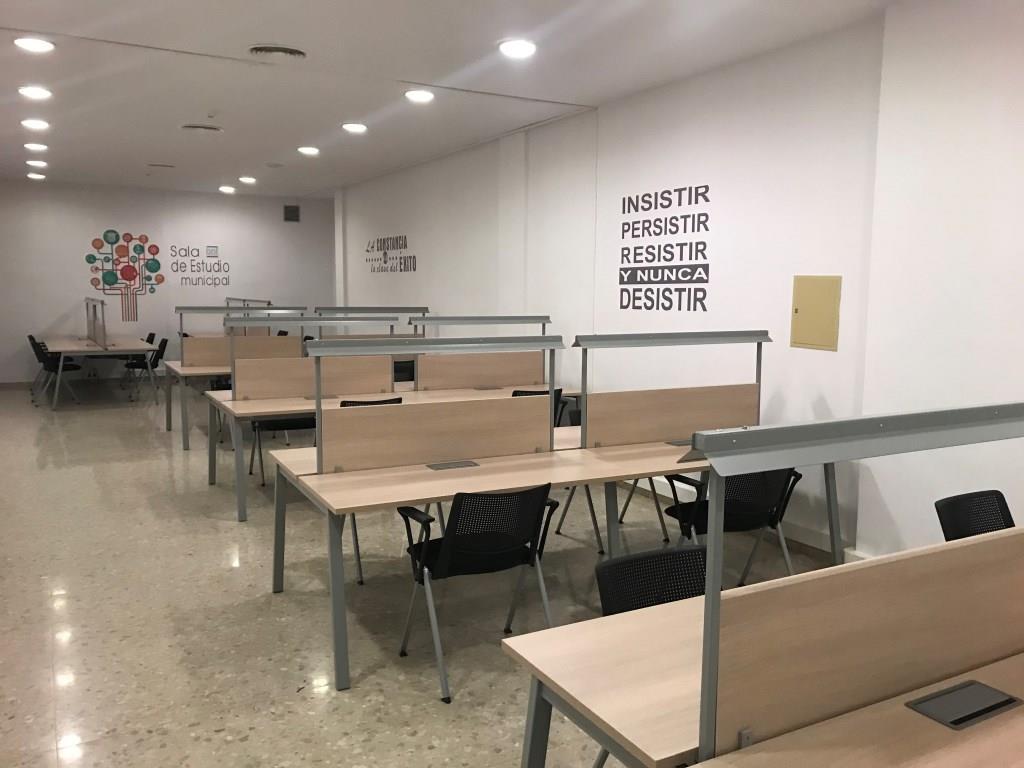 Se abre al público la nueva sala de estudio