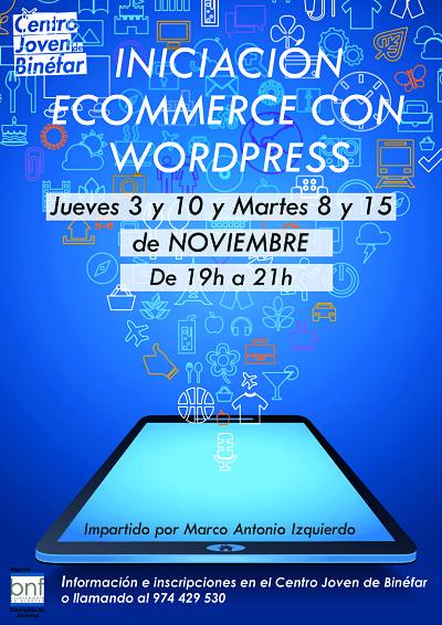 Curso de Iniciación Ecommerce con Wordpress