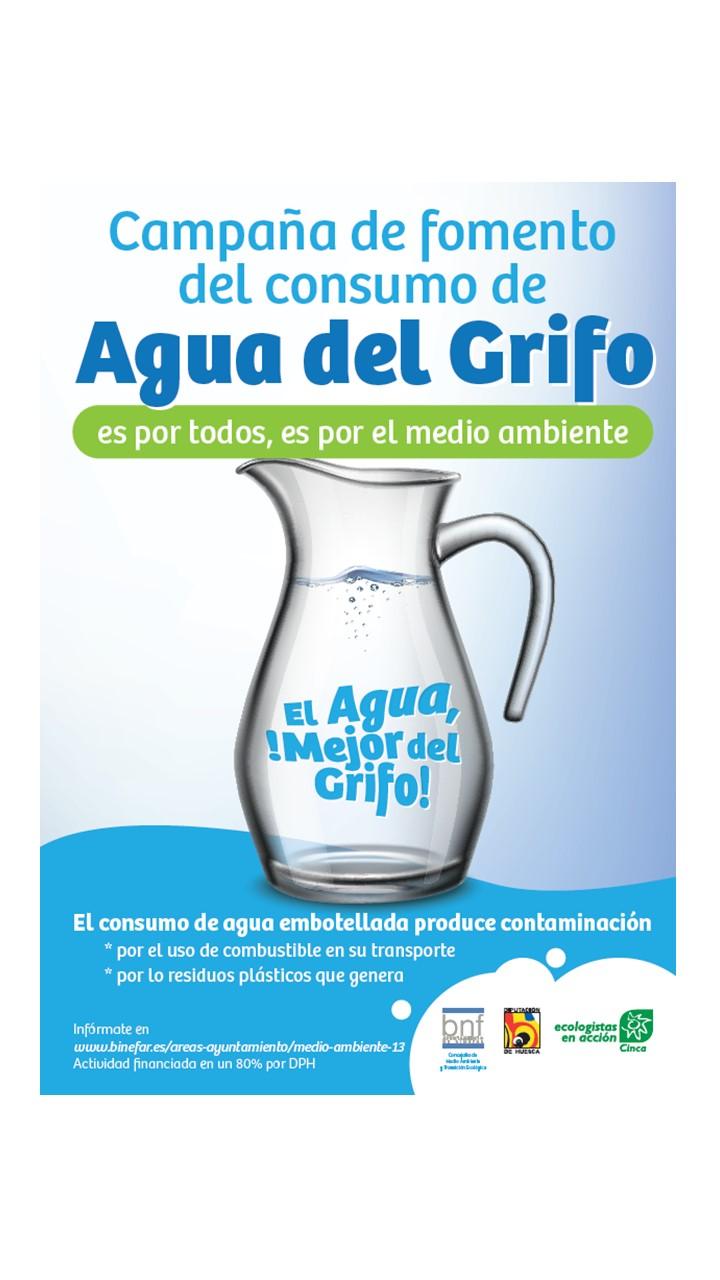 CAMPAÑA:  EL AGUA ¡MEJOR DEL GRIFO!